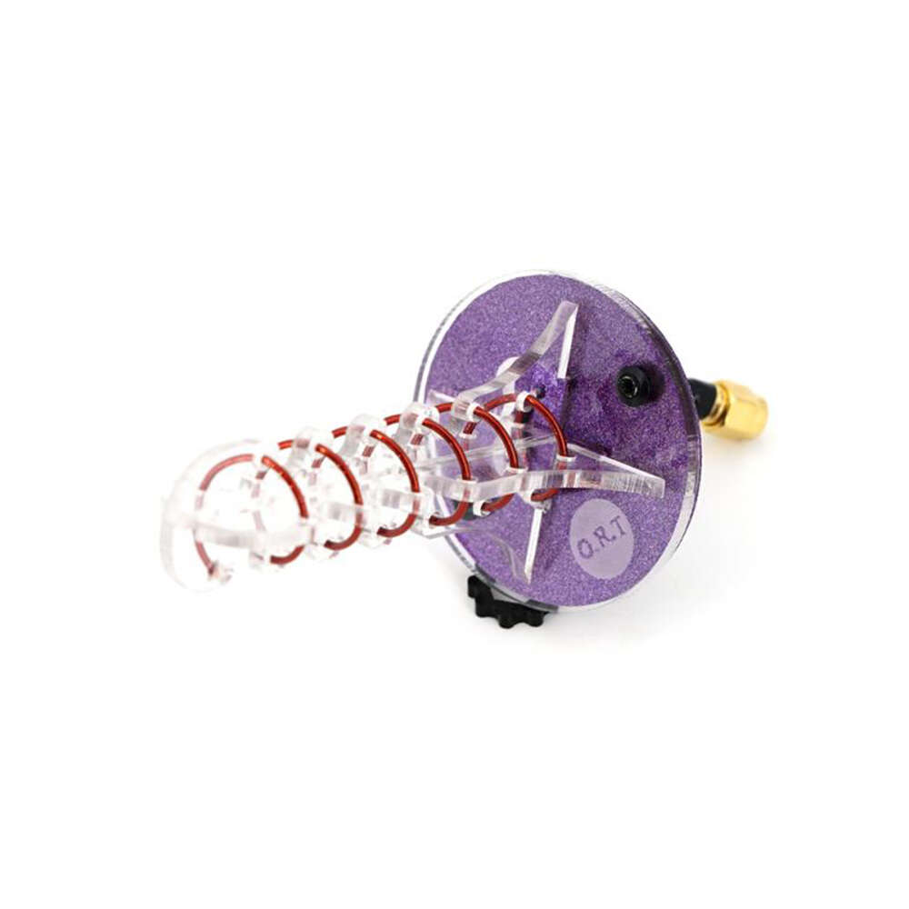 ORT New Helical 6 Turn Antenna Purple