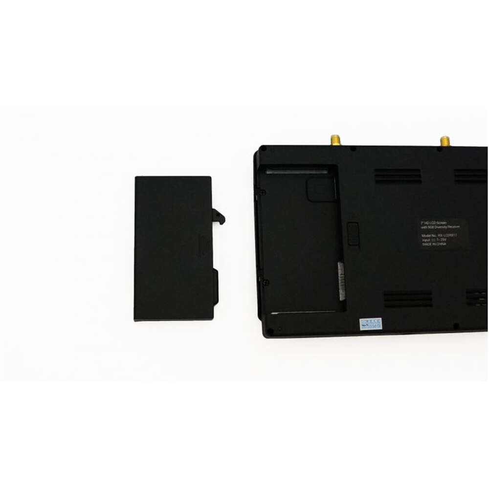 "TBS 7"" HD Diversity LCD Screen battery"