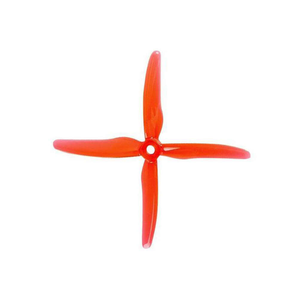 GF 51455 Hurricane X Props Durable 4 Blade Red