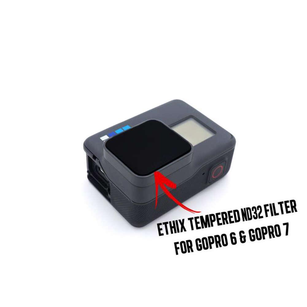 ETHIX Tempered ND32 Filter for GoPro 7 & 6 | Team BlackSheep