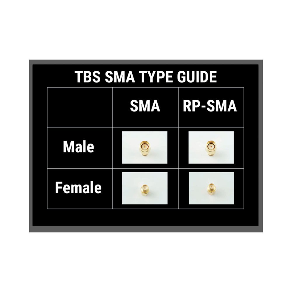 TBS SMA RPSMA adapter table team blacksheep online store tbs unify pro 5g8 v3 (sma)  at bayanpartner.co
