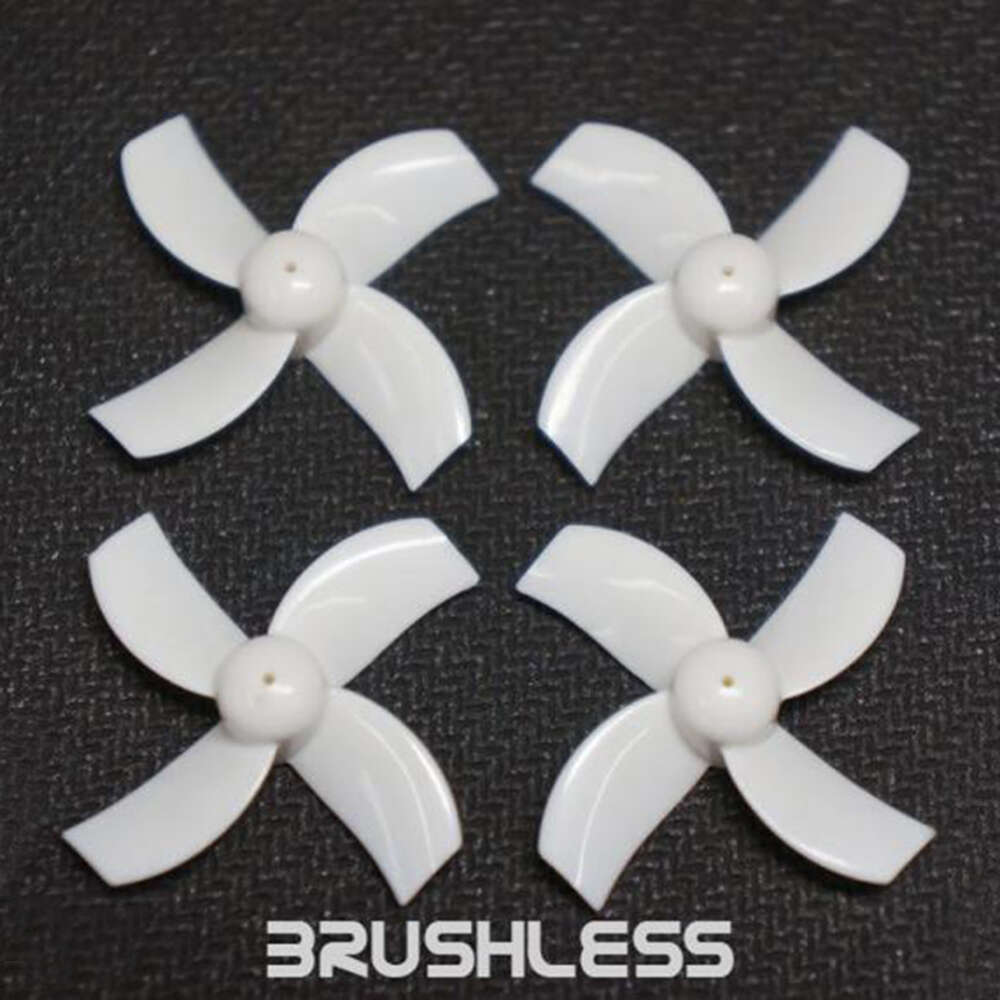 TBS x TinyWhoop Brushless Race Props (White) (1MM HUB)