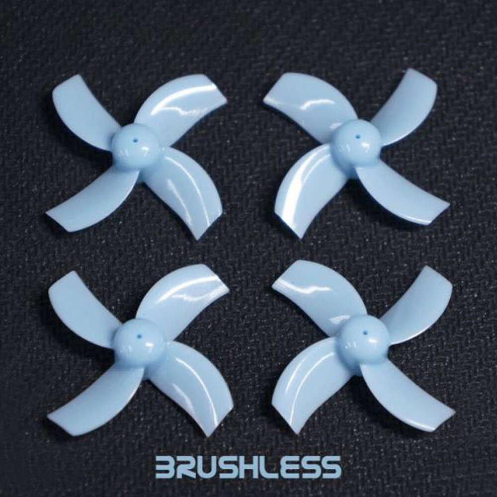 TBS x TinyWhoop Brushless Race Props (Blue) (1MM HUB)