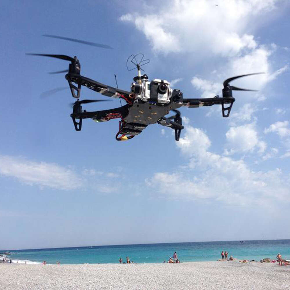 The TBS DISCOVERY PRO - brushless gimbal quadcopter