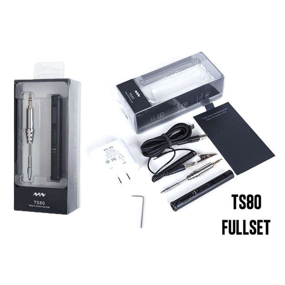 TS80 Smart Soldering Iron Kit (Full set)